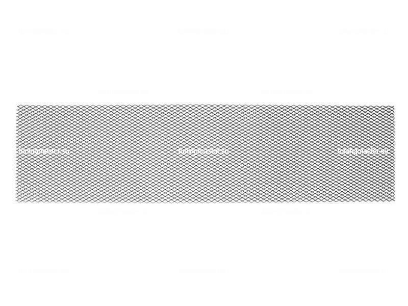 Сетка алюминиевая R16 черная (100х25)