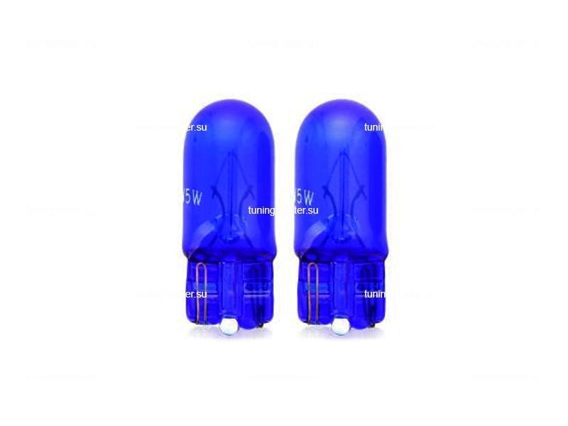 Лампа габаритная W5W T10 12V 5W 4000K (2 шт)